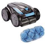 time4wellness Set Zodiac Vortex OV 5480 iQ Poolroboter mit Transportwagen und Poly Filter Compact...